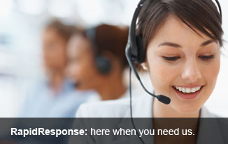 RapidResponse - here when you need us